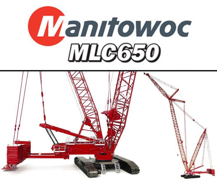 TOS007 Manitowoc MLC650 Lattice-Boom Crawler Crane w/VPC™ 1/50 scale Diecast MIB | eBay