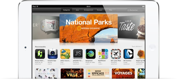 Apple - iTunes - Compte à rebours vers les 50milliards d'apps
