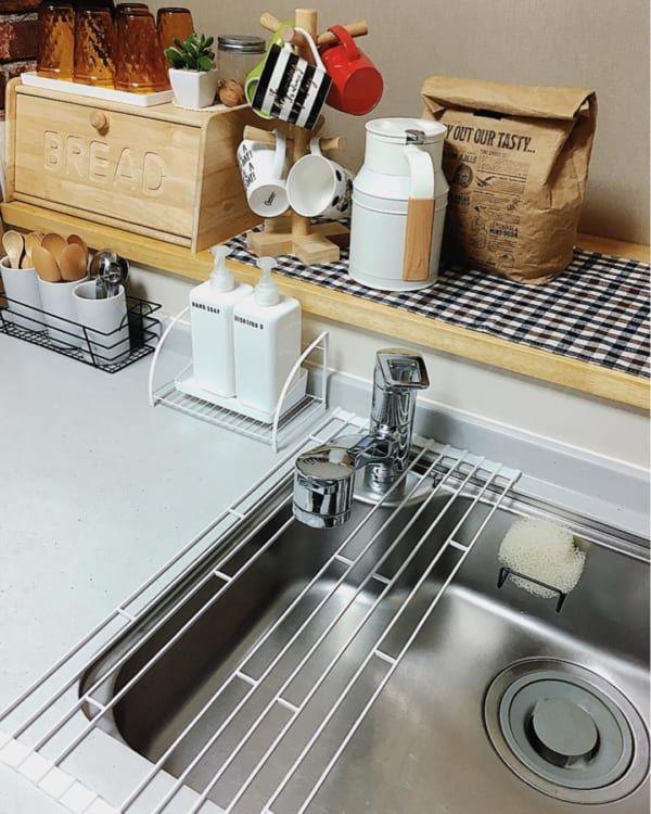 インスタグラマー愛用 おすすめの 水切りカゴ 水切りマット 10選 Folk シンク 水切り きれいなキッチン 水切り