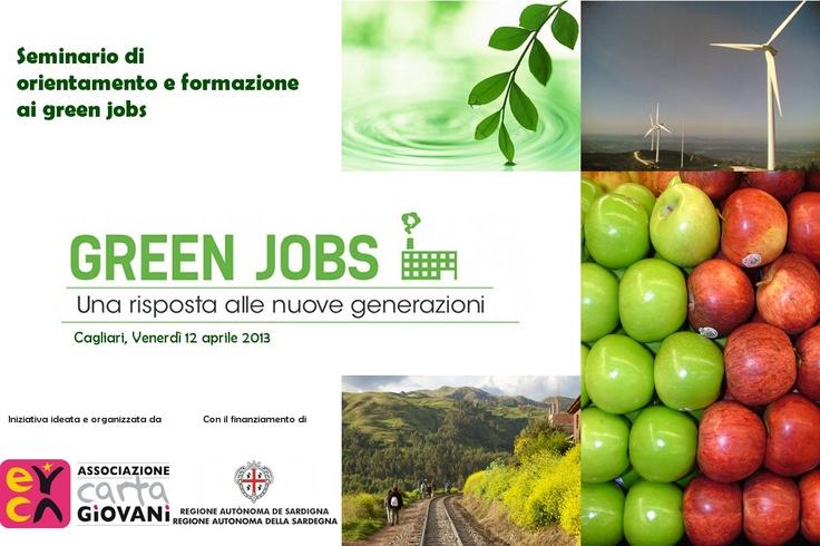 Hostess & Stewards CERCASI per il Seminario Green Jobs di Cagliari - 12 aprile 2013  http://cartagiovani.it/news/2013/03/18/hostess-stewards-con-noi-al-seminario-green-jobs-di-cagliari
