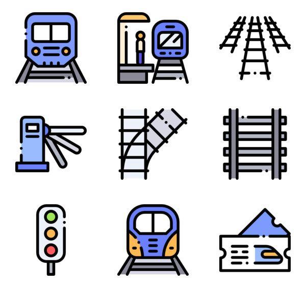 58 Icon Packs Of Train Station Free Icon Set Icon Icon Pack