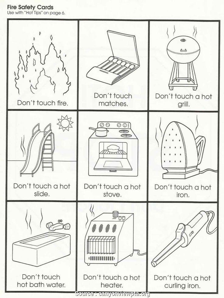6 Practical Safety Lesson Plans Kindergarten Images Label