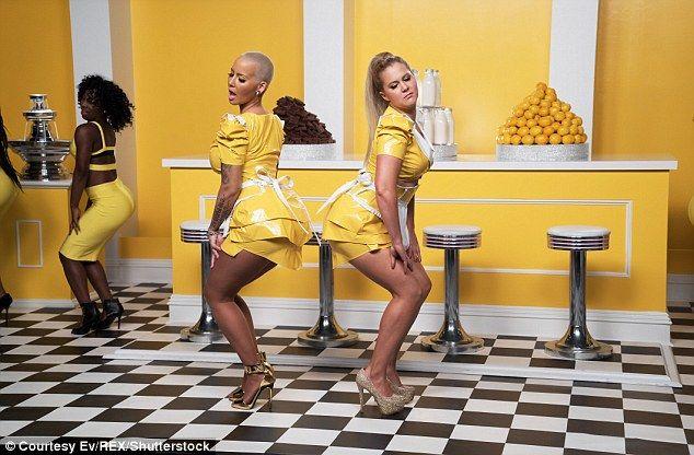 Milk Milk Lemonade! Amber and Amy filmed this mock music video last year