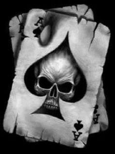 infantry ace of spade tattoo   Ace Of Spades Skull Tattoo Skull aces. tim leduc. tattoos