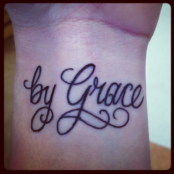 """For it is """"by grace you have been saved through faith. My ..."""
