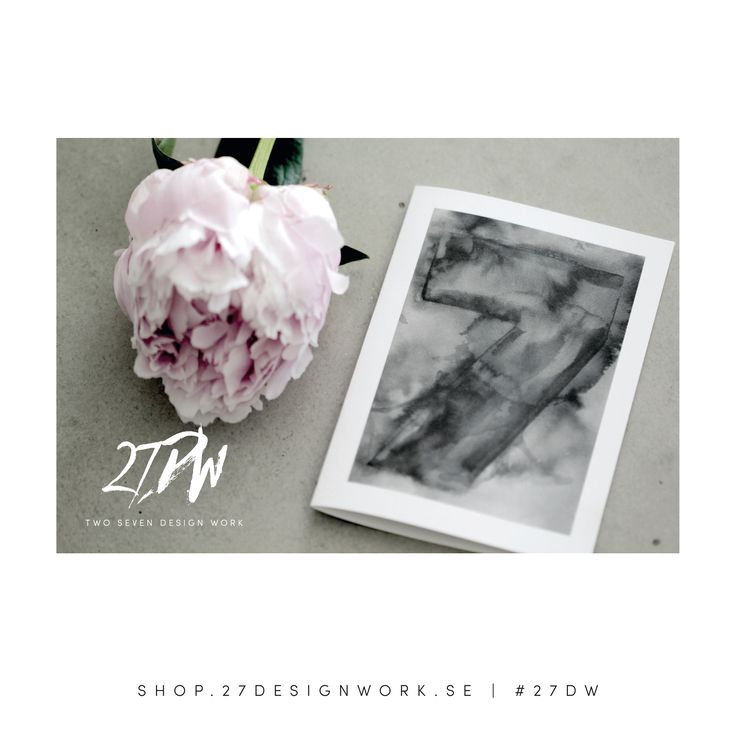 completeness - watercolor collection - card -  27DW - design d.nylén