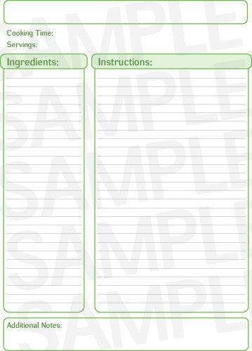107 best Our recipe binder ❤ images on Pinterest Julia child - free recipe card templates for microsoft word