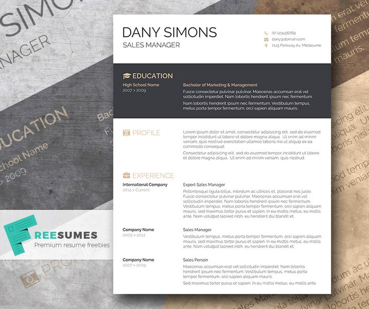 1000  images about free resume templates for word on pinterest