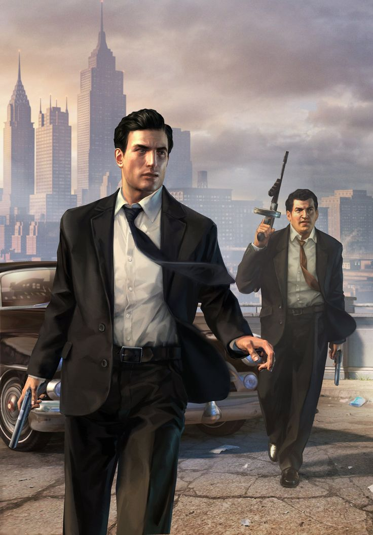 Mafia 2 - my favorite video game of all time. The story is epic.
