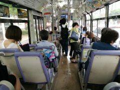 この座席はいけませんぜっ(--)y- もう廃車になったかと思っていた滅茶狭くて隣席と落差がある座席もう優先的に更新してもらいたかね 西鉄バスの-1でたまに活躍中苦笑  #西鉄 #西鉄バス #座席配置 #快適ならず #6-1番 #狭い tags[福岡県]