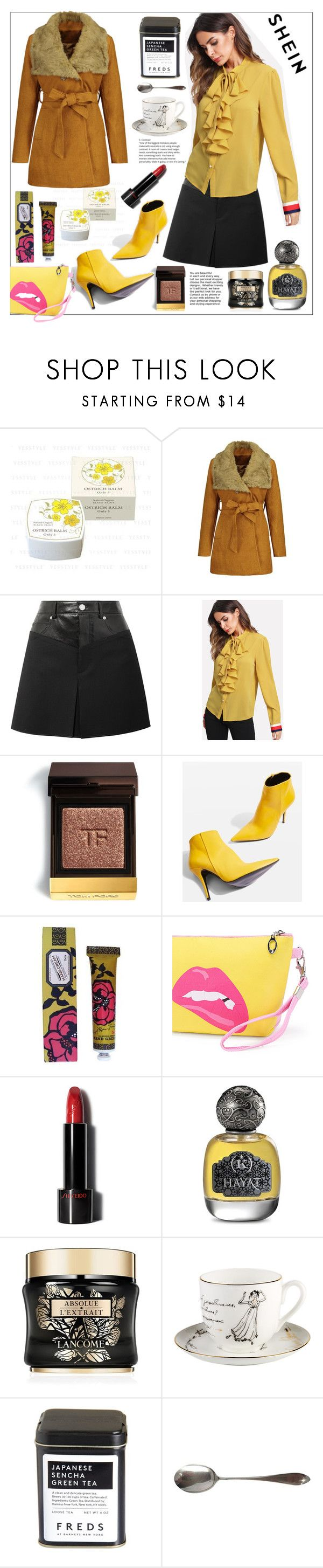 """""""Shein"""" by natalyapril1976 on Polyvore featuring Mode, Helmut Lang, Tom Ford, Topshop, Soap & Paper Factory, Lancôme und FREDS at Barneys New York"""