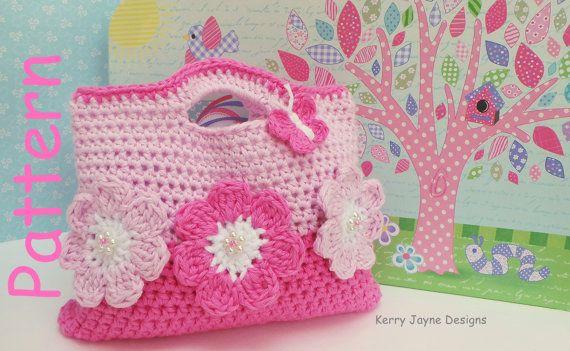 inserzione di Etsy su https://www.etsy.com/it/listing/197499933/crochet-bag-pattern-by-kerryjaynedesigns
