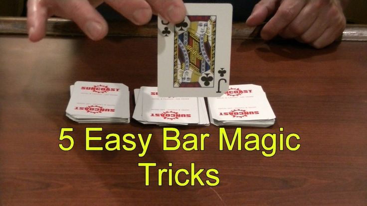5 Easy Bar Magic Tricks Epic Cool Simple Magic Trick Part 2 Easy Magic Tricks Simple Magic Tricks https://www.youtube.com/user/MrFredenza #simplemagictricks #easymagictricks #magictricks