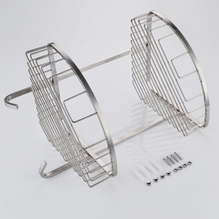 2 Tier Wall Mounted Shower Caddy