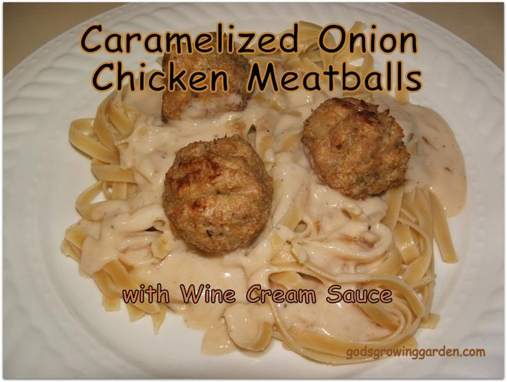 Chicken meatballs. I had to adapt some to make dairy-free and egg-free