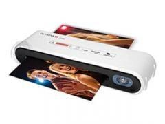 Niewielka i poręczna laminarka pozwalająca zabezpieczać dokumenty do formatu A4 zarówno na ciepło jak i na zimno.