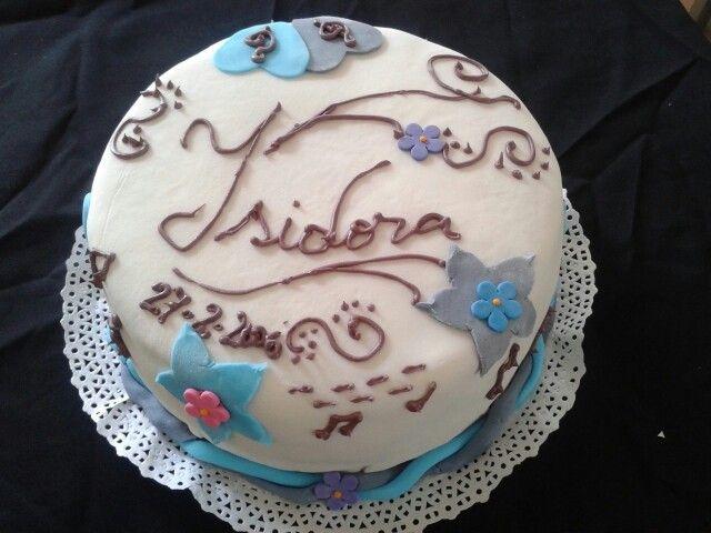 Torta estilo Violetta