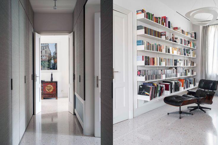 via Cernuschi - Milan,library