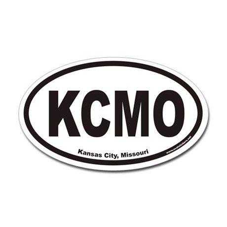 Kansas city missouri kcmo euro oval decal