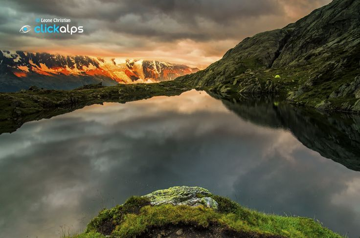 Sunset to lake Cheserys by Leone Christian on 500px