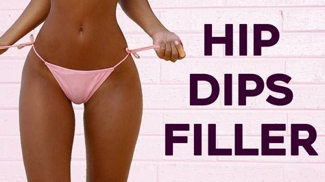❤️ How To Get Rid of Hip Dips (Violin Hips) | 5 Workouts For Bigger and ...