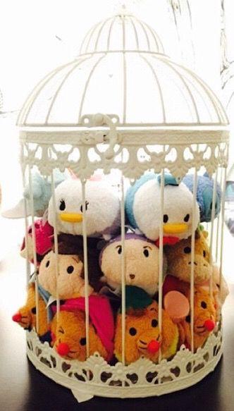 Cute/tidy way of storing as well as displaying childhood teddies