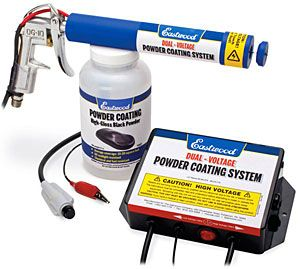Have a part you want to get powder coated? Now you can do it yourself with this Dual Voltage HotCoat Powder Coating Gun from Eastwood.