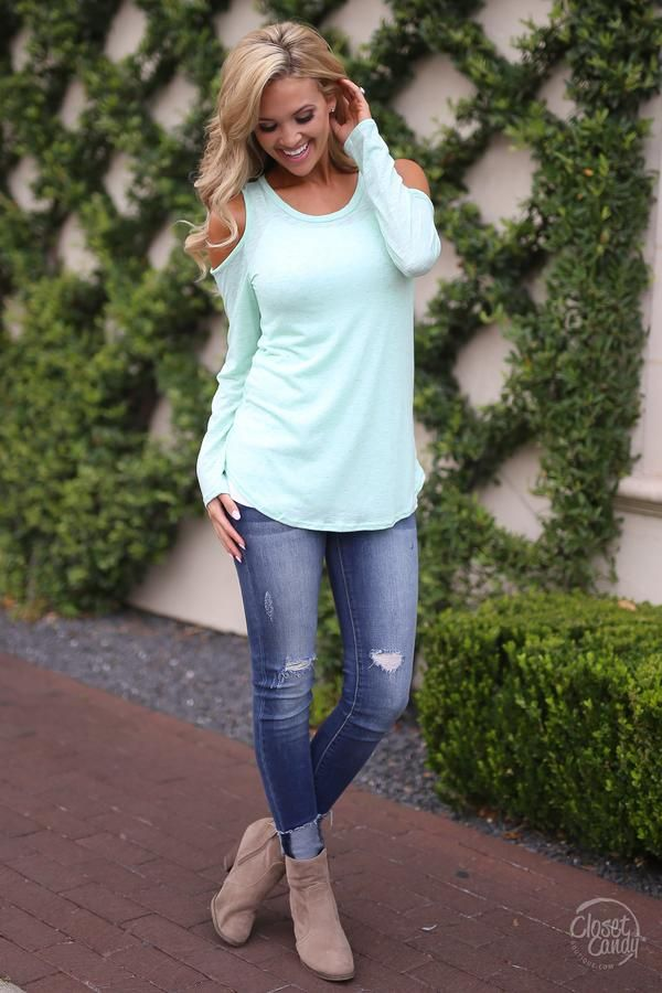 Here Comes the Sun Top - Mint