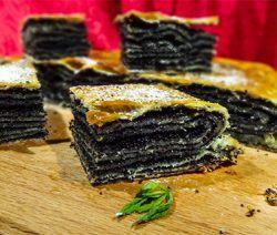 Катлама – татарский пирог с маком (Tatar Cake with Poppy Seeds)