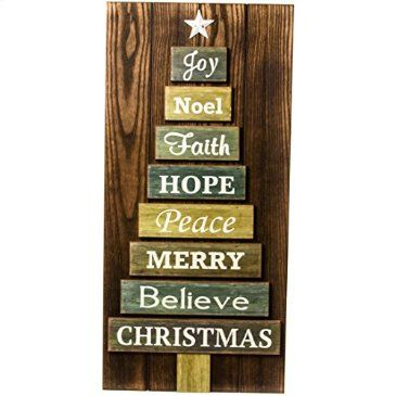 Wooden Christmas Tree Sign http://shop.crackerbarrel.com/Wooden-Christmas-Tree-Sign/dp/B013H3LYH4