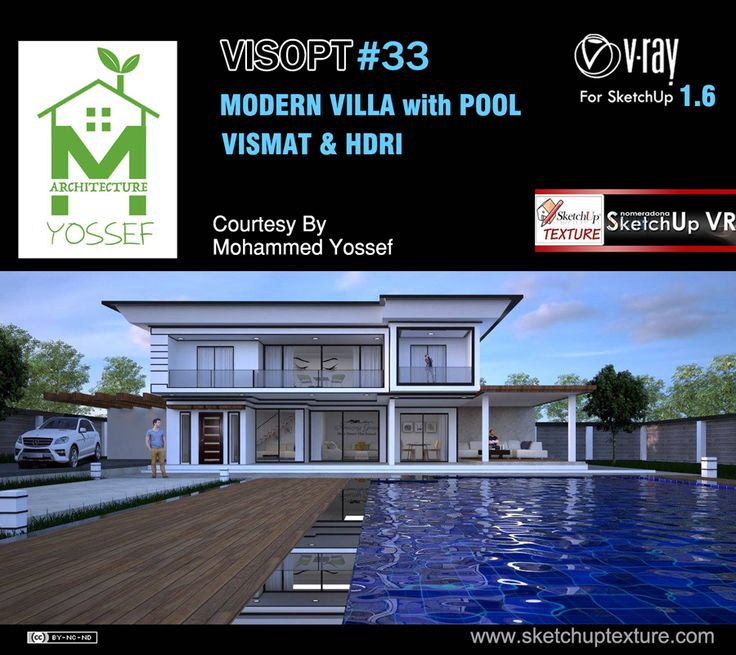 Free #vray For #sketchup 1.6 Exterior VISOPT #33 HDRI And