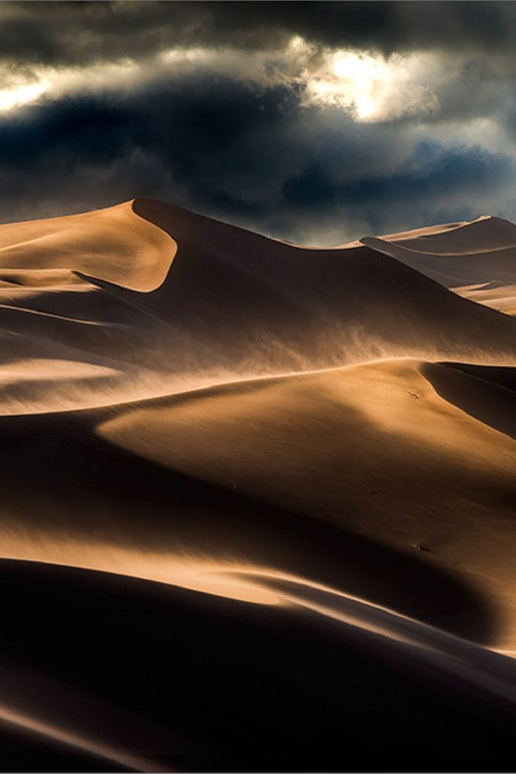 COLORADO - Great Sand Dunes National Park and Preserve in the San Luis Valley, Colorado