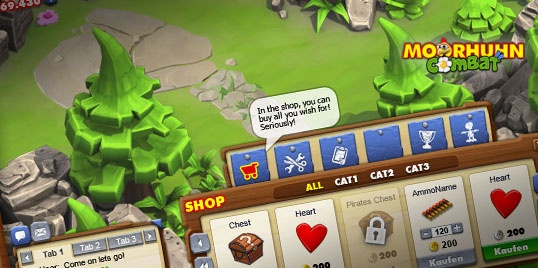 #Interface for flash mmo #Crazychicken