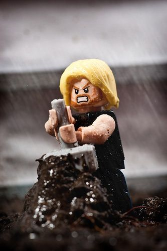 Thor scene recreation by Alex Webber on Pinterest | LEGO Minifig