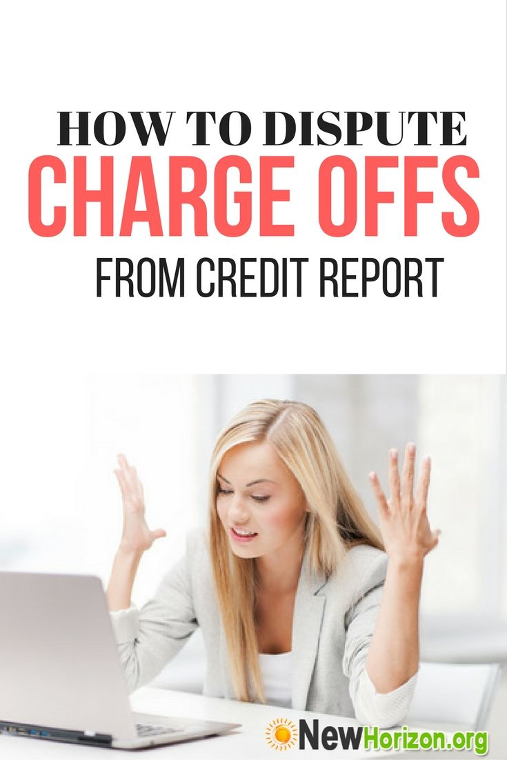 How To Dispute Charge Offs From Credit Report