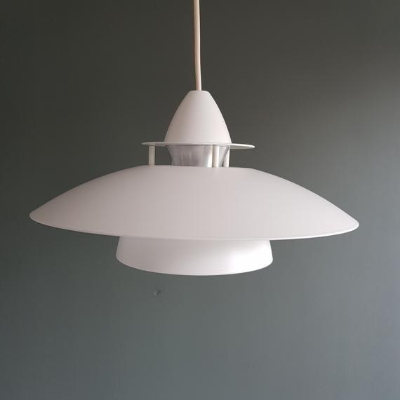 Small White Lamp Belid Lamp Swedish Lamp Design Pendant Ceiling Light White Pendant Pendant Lamp Mid Century Modern Design Lighting In 2020 White Lamp Ceiling Lights Pendant Lamp