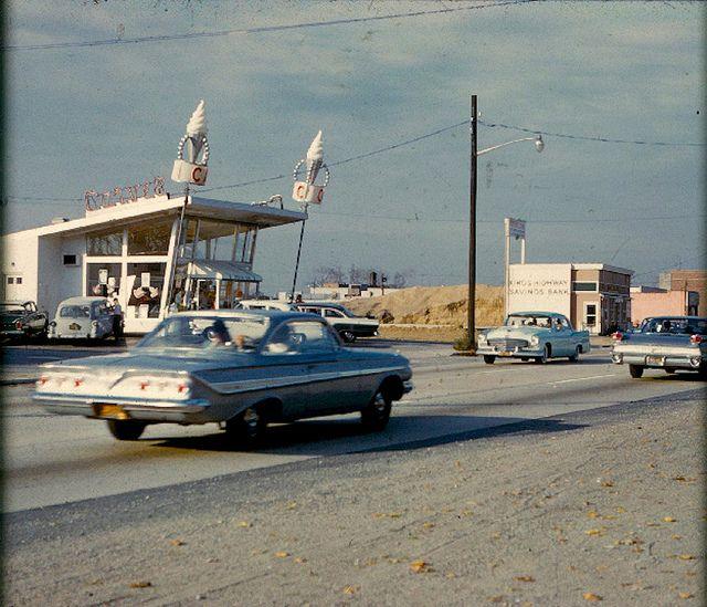 1960s Carvel Ice Cream Store Vintage Photo