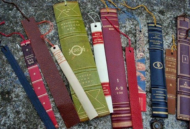 Fiffel och Tråd: Bokmärken av kasserade böcker