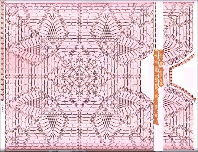 Mejores 49 im genes de esquemas crochet en pinterest - Esquema punto estrella crochet ...