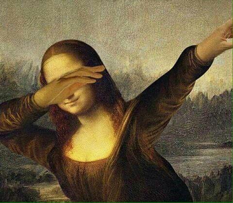 Mona Lisa dab