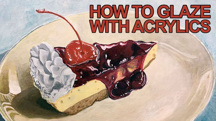 Learn how to glaze with acrylics in this lesson on indirect painting.