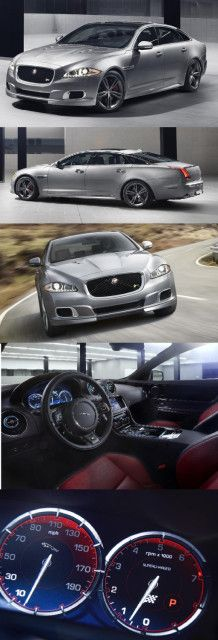 New Jaguar XJR at the New York Auto Show 2013 ALL BLACK PLEASE!!!!