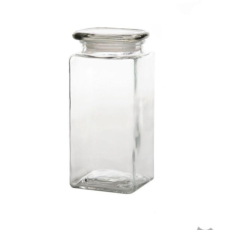 Vorratsdose Glas ca D:10,5 x H:22,5 cm