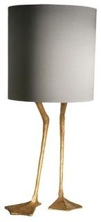 Duck Feet Lamp - craftsman - table lamps - by EcoFirstArt