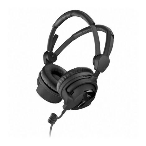 The HD 26 PRO - the perfect headphones for radio and television broadcast productions. Because of its closed design this headphones offer a high passive noise attenuation. The HD 26 PRO provides a very accurate sound reproduction for demanding applications. Soft ear cushions and low weight guarantee outstanding wearing comfort even in long term use.