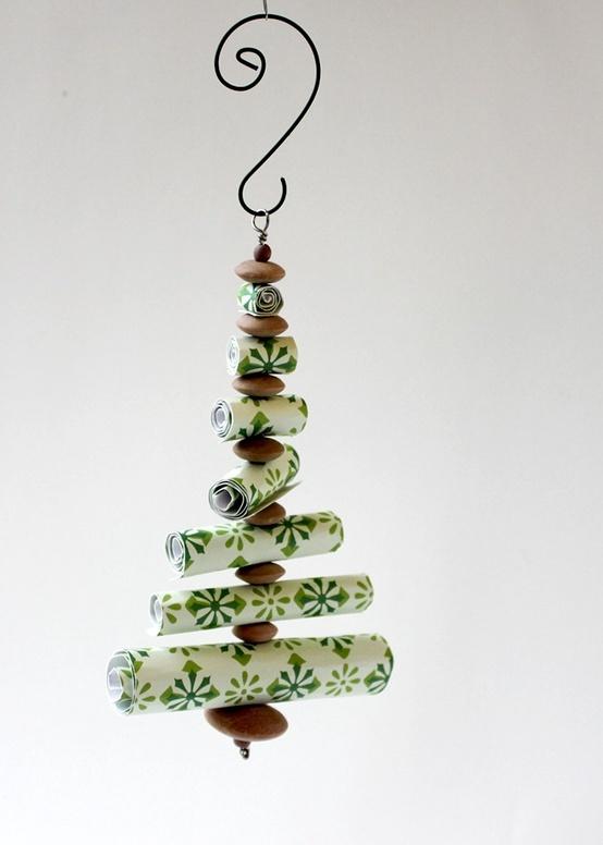 Paper Roll Kerstbomen