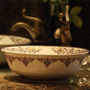 European Mediterranean style ! Art Basin - Lavatory - wash basin - washbasin - Counter Basin - sweet