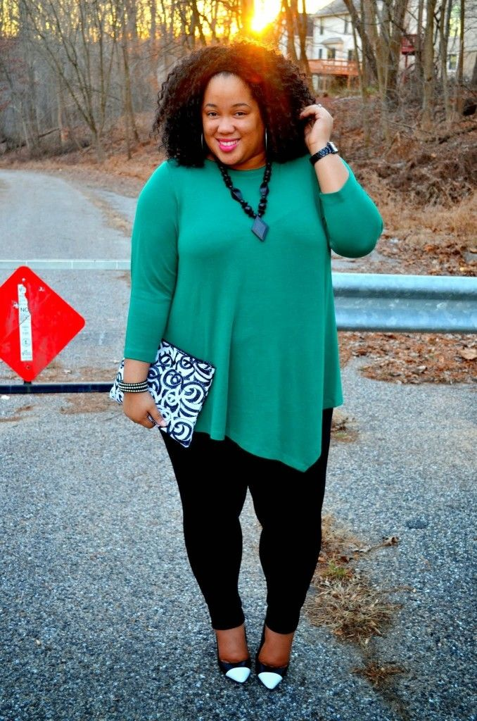 How To Wear Leggings Plus Size - Baggage Clothing