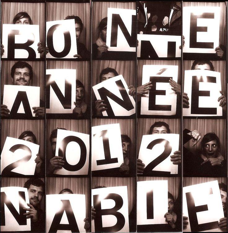 Bonne Année by Nabie / Carte de voeux