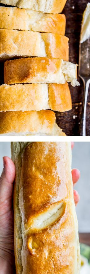 One Hour French Bread from The Food Charlatan. One hour, I promise!! This delicious yeasty French bread has only one 20-minute rise before going into a screaming hot oven for another 20 minutes. At the end you have golden crusty goodness just waiting to be slathered in butter or dipped in oil and balsamic! This is a great side dish or appetizer to make for a busy night. Bread never fails to please :)